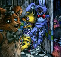 Out of service / Withereds FNaF 2 by Mizuki-T-A