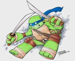 Leonardo by KidNotorious