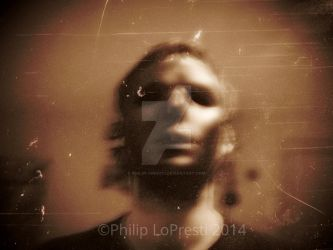 The Opening Of A Snuff Film (self portrait) by PhilipLoPresti