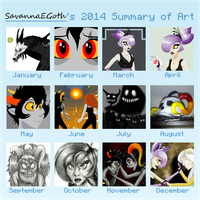 2014 Summary of Art by SavannaEGoth