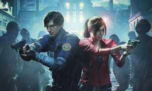 Resident Evil 2 Remake claire and Leon Image by xGamergreaserx