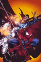 Avenging Spidey Cover by DEADNEMO