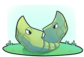 Pokemon Drawing - 11 - Metapod by SerifDraws