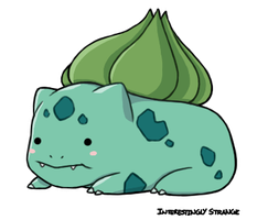 Bulbasaur by InterestinglyStrange