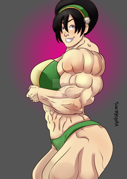 [C] Toph Beifong by roemesquita