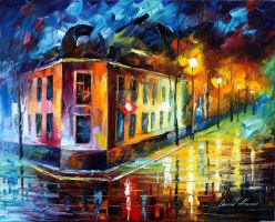 SOUL REFLECTION by Leonid Afremov by Leonidafremov