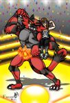 Heel to the Crowd but I'm in awe at my Incineroar! by Farumir