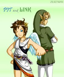 Pit and Link by Zilkenian