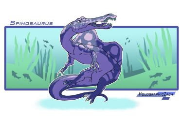 Spinosaurus by HolographicZach