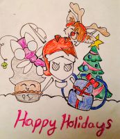 Happy Holidays 2013!!! by iamB-bat