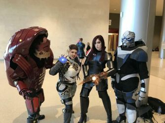 Mass Effect Group by Space-Cowboy-Arts