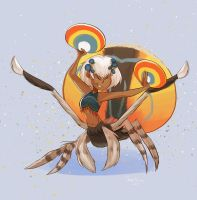 6.peacock spider by Gobi-the-dog