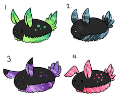 Sea-Bunny Slime Adopts [OPEN] by ButtonPrince