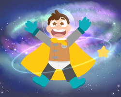SPAAAAAACE!!! by Winterwithers