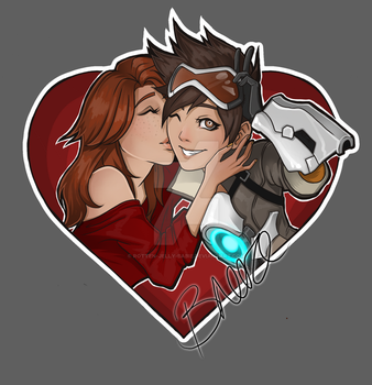 Tracer and Emily by rotten-jelly-babie