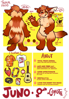YOTE REF | 2016 by californiacoyote