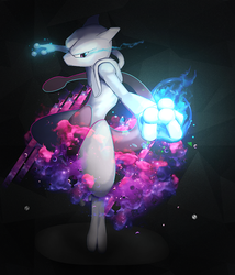 MewTwo by therealVanilla