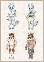 Anthro Adopt Batch Auction (CLOSED) by Adoptables-station