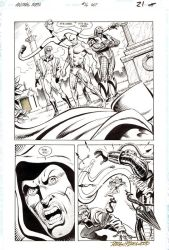 ANIMAL MAN #16 Justice League Europe X-over SOLD by DRHazlewood