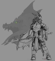 Lance the Dragon Knight by deadsomejack