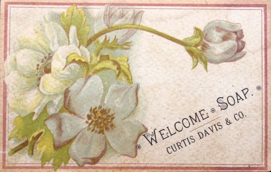 Victorian Advertising - Welcome Soap by Yesterdays-Paper