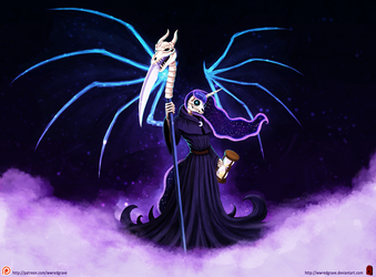 Death Luna - Discworld and MLP crossover by WWRedGrave