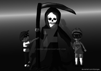 The Grim adventures of Billy and Mandy by DrPingas