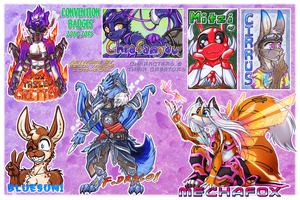 COM: left-over 2014 Badges by carnival