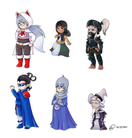 Bravely Default/Final Fantasy: The Council of Six by XEmoMidnaX