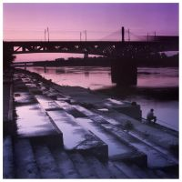 Vistula Dusk by MartinDay