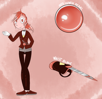 Red Conch Pearl (CE) by AngelThatDraws