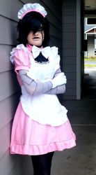 Maid Mettaton1 by Genocidal-Cosplay