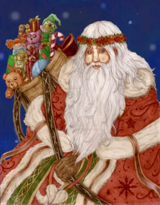 Father Christmas by MaverickTears