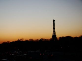 Paris Skyline 6 by Betuzelles