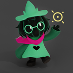 (DeltaRune)-Ralsei Magic by CutieTree