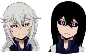 [ BnHA OC ] Physical Changes by GrandAzure