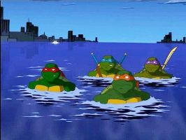 tmnt 2003 by rosewitchcat