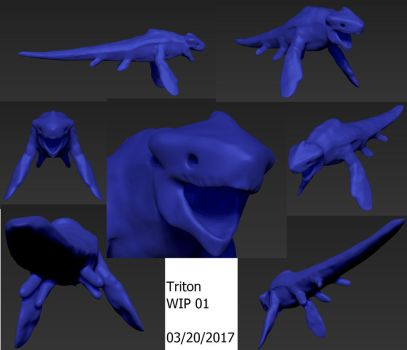 Triton WIP Preview1 by AdventDestiny