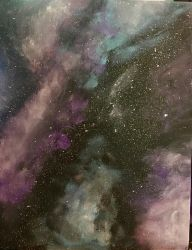 Inspirational Galaxy Pic w/o Words by TyTheNaught