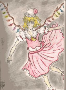 Touhou Project: Darkness by Neverablueflame