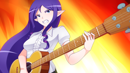 Rock Rarity (Pic of the week MLPS7E9) by JonFawkes