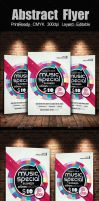 Creative Abstract Flyer Template by Designhub719