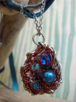 Robins Egg Necklace 2 by Ideas-in-the-sky