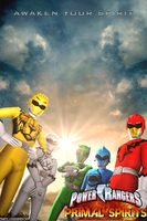 Power Rangers Primal Spirits Poster by TheGlassEmperor