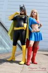 Supergirl / Batgirl by chiquitita-cosplay