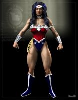 Wonder Woman NEW Costume by Stone3D