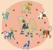 pokemon fusion by re-flamed