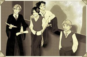 A Marauders Pic by TheLily-AmongThorns