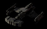 Starcraft Battlecruiser WIP by Lwerewolf