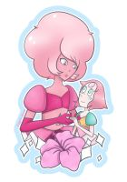 Pink Diamond and Pearl by capri-blue